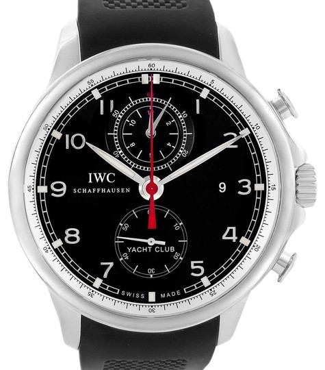 IWC IWC Portuguese Yacht Club Chronograph Rubber Strap Mens Watch IW390210 Image 0