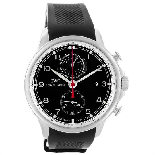 IWC IWC Portuguese Yacht Club Chronograph Rubber Strap Mens Watch IW390210 Image 1