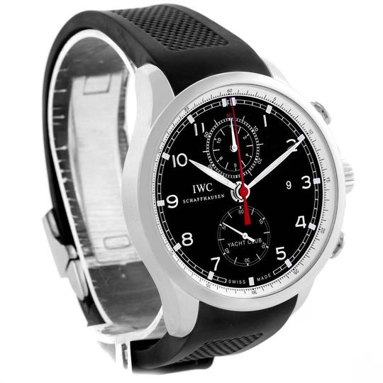 IWC IWC Portuguese Yacht Club Chronograph Rubber Strap Mens Watch IW390210 Image 2