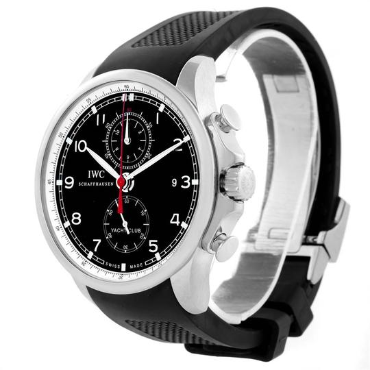 IWC IWC Portuguese Yacht Club Chronograph Rubber Strap Mens Watch IW390210 Image 3