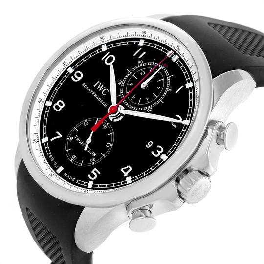 IWC IWC Portuguese Yacht Club Chronograph Rubber Strap Mens Watch IW390210 Image 4