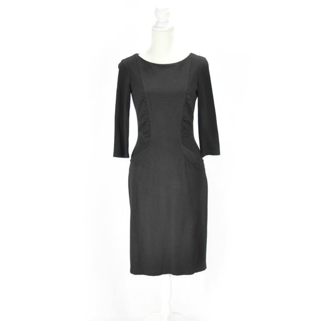 Preload https://img-static.tradesy.com/item/25170211/david-meister-black-chic-sheath-34-sleeve-mid-length-workoffice-dress-size-6-s-0-0-650-650.jpg