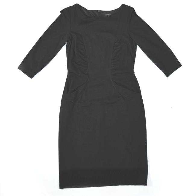 David Meister Career Cocktail Day To Night Pockets Dress Image 3
