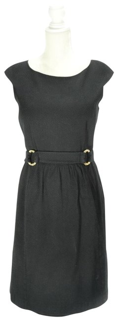 Preload https://img-static.tradesy.com/item/25170216/david-meister-black-with-gold-accents-textured-cap-sleeve-mid-length-workoffice-dress-size-12-l-0-2-650-650.jpg