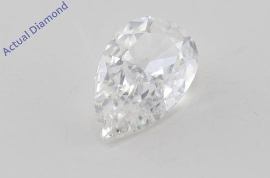CaratsDirect2U Pear Loose Diamond 0.73 Ct G Color Vvs1 Clarity GIA C605 Image 2