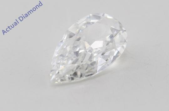 CaratsDirect2U Pear Loose Diamond 0.73 Ct G Color Vvs1 Clarity GIA C605 Image 4