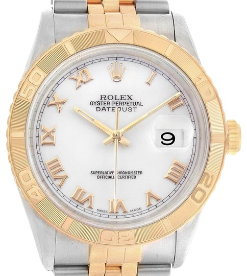 Preload https://img-static.tradesy.com/item/25170268/rolex-white-datejust-turnograph-steel-yellow-dial-mens-1626-watch-0-1-540-540.jpg