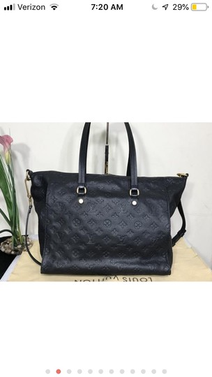 Louis Vuitton Tote in Navy blue Image 1