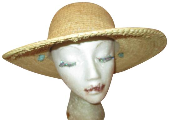 Preload https://img-static.tradesy.com/item/25170322/natural-and-turquoise-straw-sun-hat-0-1-540-540.jpg