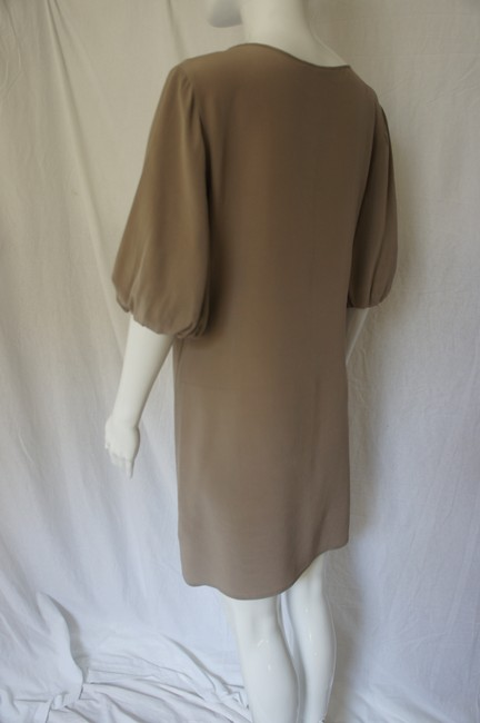 A|X Armani Exchange Silk Bell Sleeves Chain Dress Image 1