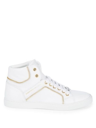 Alessandro Dell'Acqua White Athletic Image 5