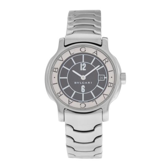 Preload https://img-static.tradesy.com/item/25170365/bvlgari-silver-lady-solotempo-st29s-stainless-steel-watch-0-0-540-540.jpg