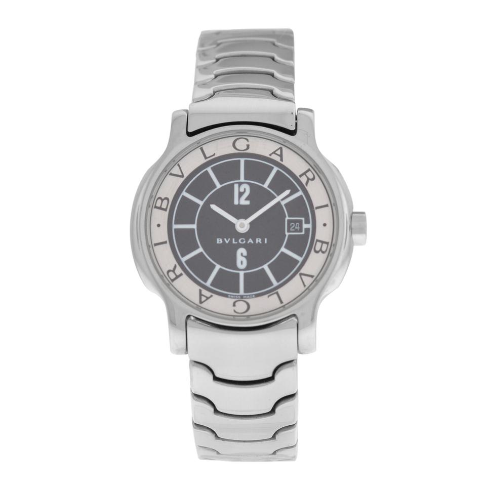huge discount df6db 12771 BVLGARI Silver Lady Solotempo St29s Stainless Steel Watch