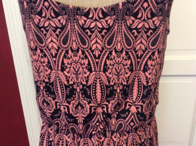 black & pink Maxi Dress by Love Luscious Image 7
