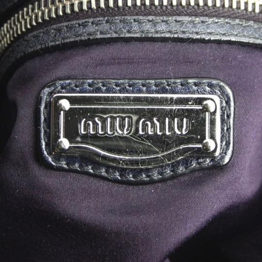Miu Miu Satchel in dark blue Image 4