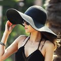 Other Hot Fashion Summer Women's Ladies' Foldable Hat Image 0
