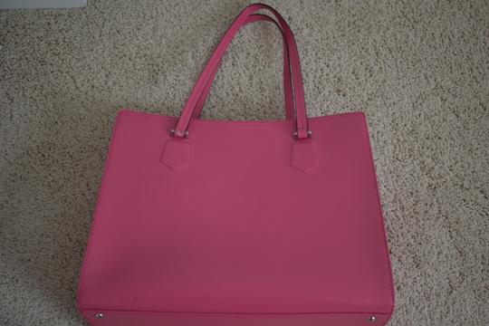 Furla Shoulder Spring Summer Leather Tote in fuchsia Image 1