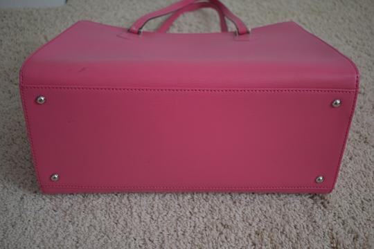 Furla Shoulder Spring Summer Leather Tote in fuchsia Image 3