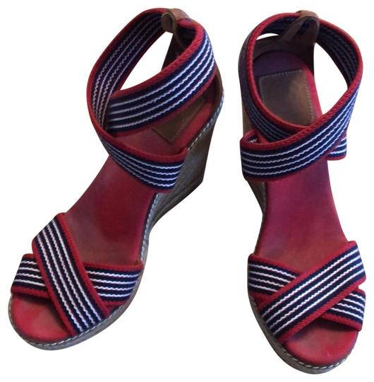 Preload https://img-static.tradesy.com/item/25170910/tory-burch-red-blue-and-white-wedges-size-us-7-regular-m-b-0-1-540-540.jpg