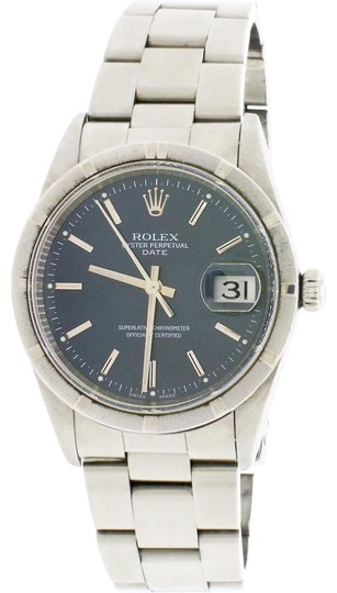 Preload https://img-static.tradesy.com/item/25170968/rolex-stainless-steel-date-34mm-blue-index-dial-oyster-15210-watch-0-2-540-540.jpg