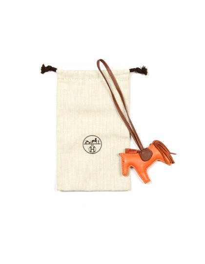 Hermès Leather Small Rodeo Bag Charm Image 1