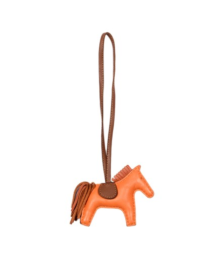 Hermès Leather Small Rodeo Bag Charm Image 2