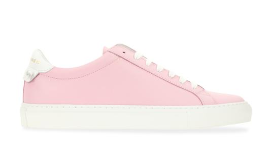 Preload https://img-static.tradesy.com/item/25171096/givenchy-pink-devon-leather-low-top-sneakers-size-eu-38-approx-us-8-regular-m-b-0-1-540-540.jpg