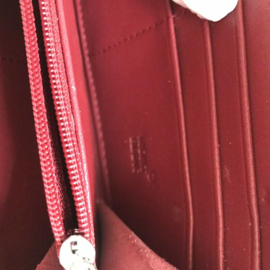 Mont Blanc MONT BLANC Red leather Wallet Image 7