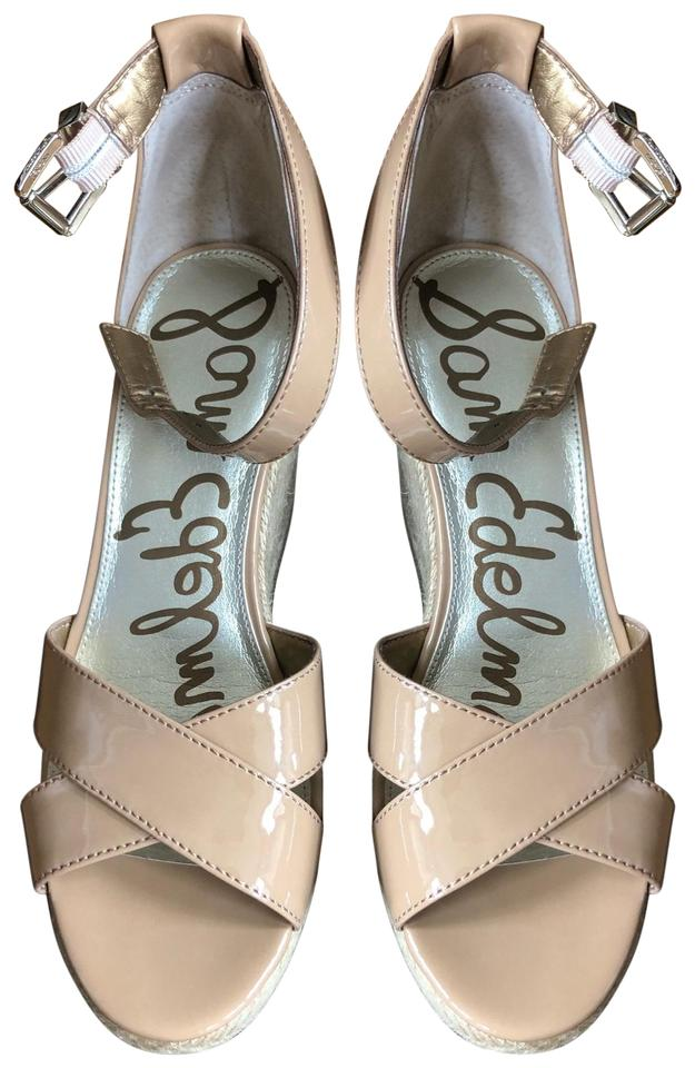 366734c8f Sam Edelman Almond E0567s2250 Brenda Wedges Size US 8 Regular (M