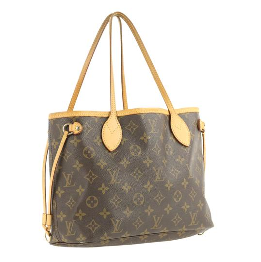 Louis Vuitton Lv Neverfull Pm Tote in Brown Image 1