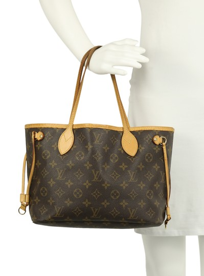 Louis Vuitton Lv Neverfull Pm Tote in Brown Image 11