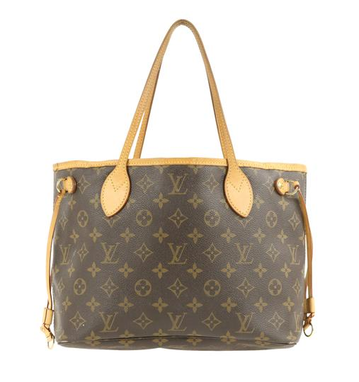 Louis Vuitton Lv Neverfull Pm Tote in Brown Image 2