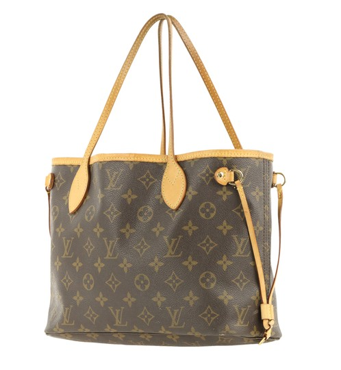 Louis Vuitton Lv Neverfull Pm Tote in Brown Image 3