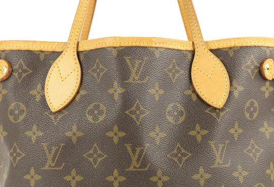Louis Vuitton Lv Neverfull Pm Tote in Brown Image 4