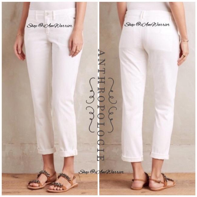Anthropologie Straight Pants white Image 2