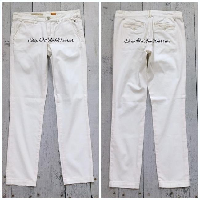 Anthropologie Straight Pants white Image 3