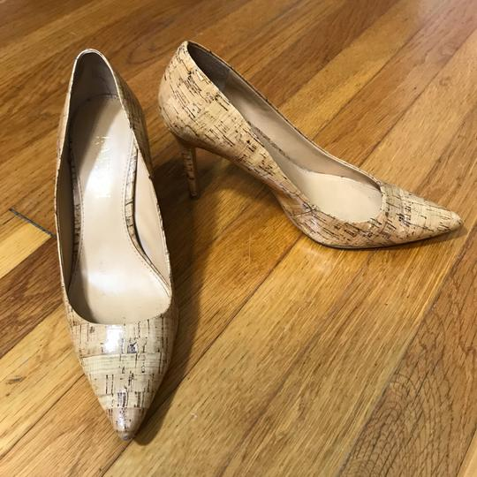 Lauren Ralph Lauren Tan, Nude, Cork, Brown Pumps Image 1