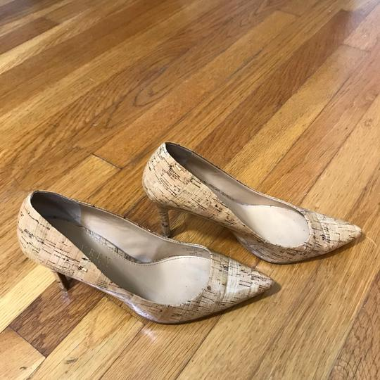 Lauren Ralph Lauren Tan, Nude, Cork, Brown Pumps Image 10