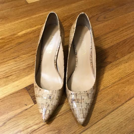 Lauren Ralph Lauren Tan, Nude, Cork, Brown Pumps Image 2