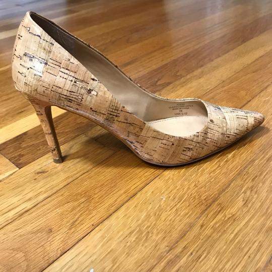 Lauren Ralph Lauren Tan, Nude, Cork, Brown Pumps Image 7