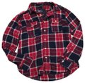 American Eagle Outfitters Button Down Shirt Red, White and Blue Image 0