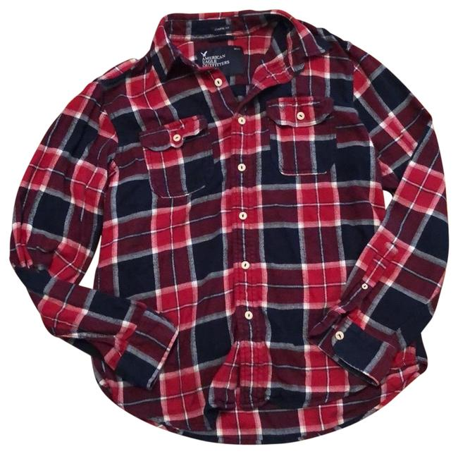 Preload https://img-static.tradesy.com/item/25171489/american-eagle-outfitters-red-white-and-blue-men-s-plaid-athletic-fit-flannel-button-down-top-size-8-0-1-650-650.jpg