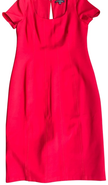 Preload https://img-static.tradesy.com/item/25171509/brooks-brothers-red-fitted-mid-length-short-casual-dress-size-8-m-0-2-650-650.jpg