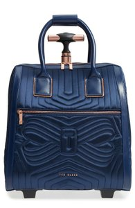 0838c20e9 Ted Baker Polyester Carry On Suitcase Blue Travel Bag