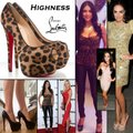 Christian Louboutin Brown Platforms Image 1