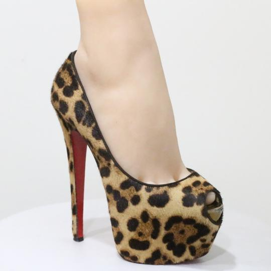 Christian Louboutin Brown Platforms Image 3
