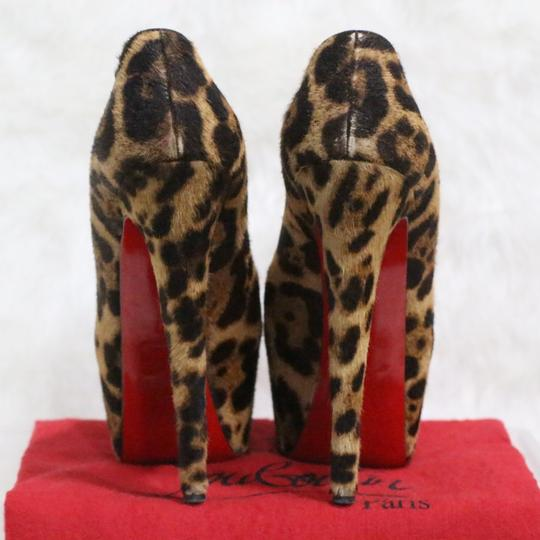 Christian Louboutin Brown Platforms Image 6