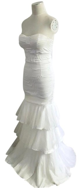 Preload https://img-static.tradesy.com/item/25171655/l-atiste-white-strapless-tiered-ruched-tulle-organza-wedding-prom-party-cocktail-long-formal-dress-s-0-1-650-650.jpg