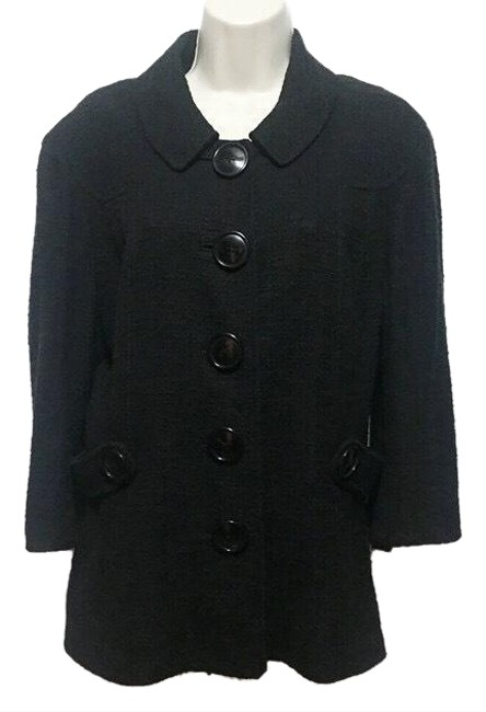 Preload https://img-static.tradesy.com/item/25171801/tory-burch-black-34-sleeve-tweed-blazer-size-14-l-0-1-650-650.jpg