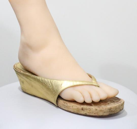 Christian Louboutin Gold Sandals Image 4